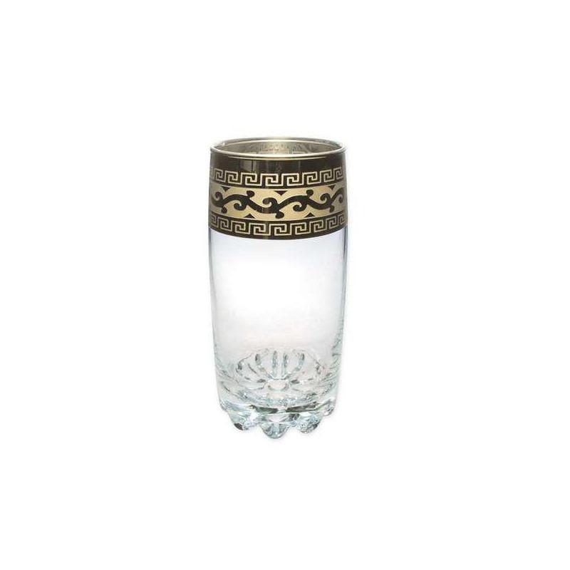 """Набор стаканов для воды """"Сильвана"""", с рисунком """"Версаче"""", 390мл, 6шт/упак., GE08-812"""