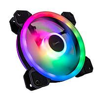Вентилятор Tecware ARC Spectrum F3 Starter Kit (TW-ARC-F3-SK4), 120х120х25мм, 3-pin, чорний з білим