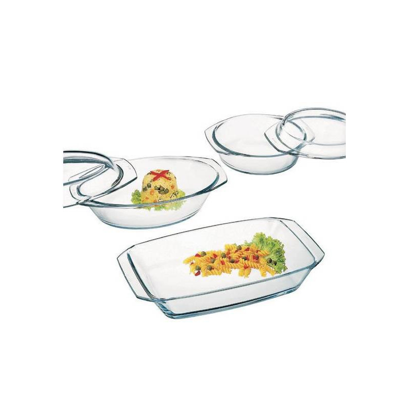 "Набір посуду ""Simax"", 3 предмета (1,5 л, 2,4 л, 2,4 л), COLOR, s302"