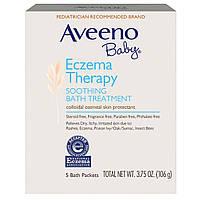 Смесь для ванны, против дерматита, Aveeno, 106 г