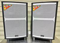 Аккумулятоные колонки TWS-1202 STEREO с микрофоном 400W (FM/USB/Bluetooth), фото 1