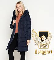 Воздуховик Braggart Angel's Fluff 27005 | Куртка женская зимняя синяя, фото 1