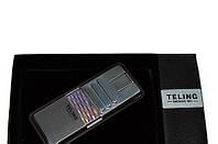 Зажигалка Teling 3712 Утонченный дизайн,элегантный подарок ценителям табака.Успейте приобрести Новин