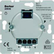 Электронная вставка выключателя BLC с релейным контактом, 230В Berker