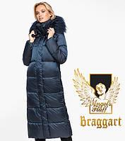 Воздуховик Braggart Angel's Fluff 31072 | Женская зимняя куртка сапфировая, фото 1