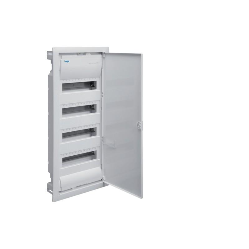 Щит на 48(56) модулів з металевими дверями, без клем, VOLTA (VU48UA)