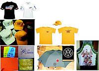 Брендирование кепки футболки зонты полотенца фартуки, фото 1