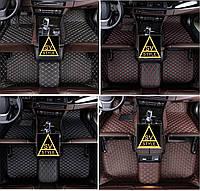 Коврики ToyotaLC 100  из Экокожи 3D (2003-2008), фото 1