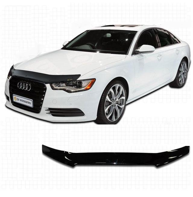 Дефлектор капота  Audi A6  2011