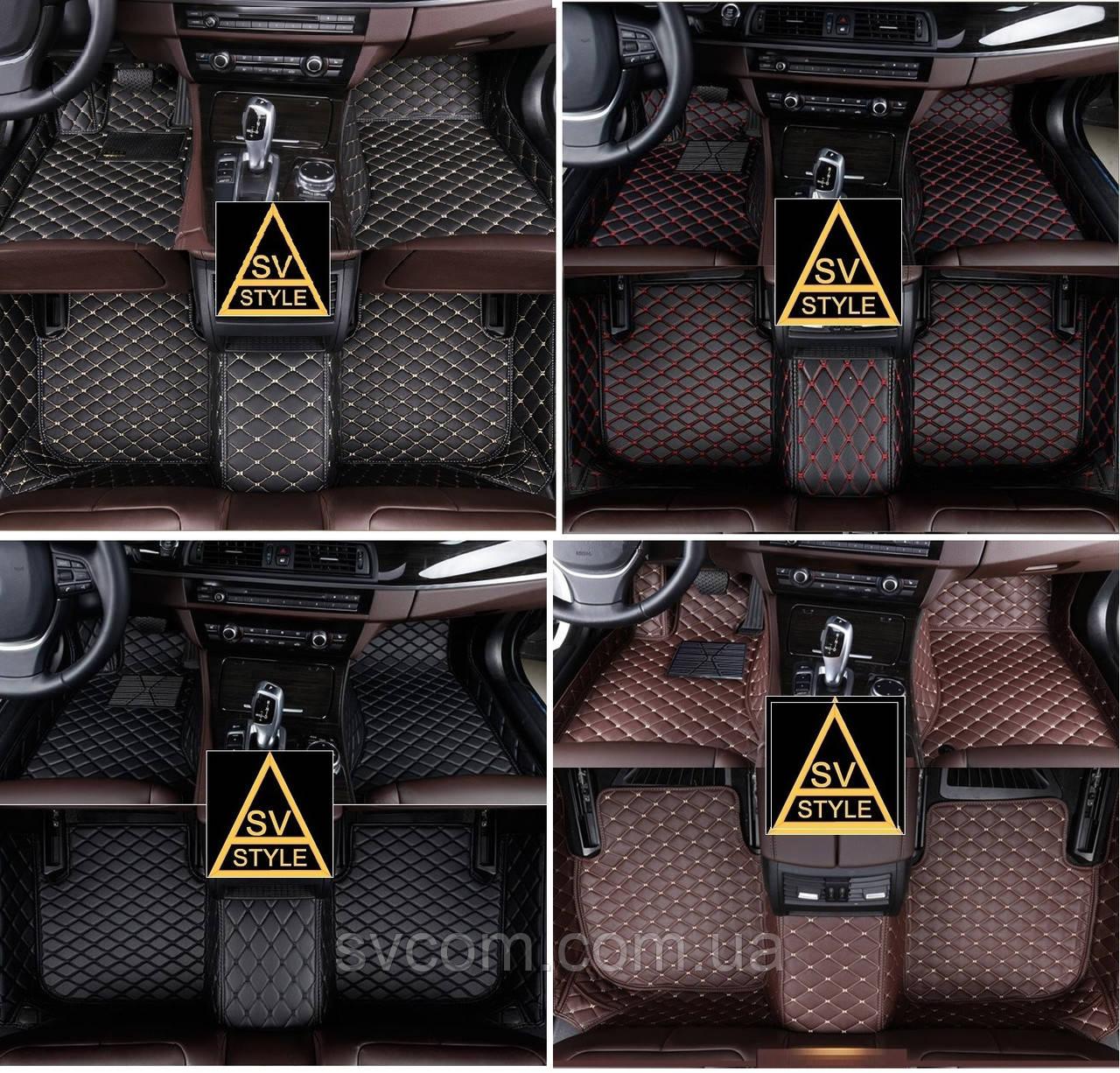 Коврики Toyota Avalon из Экокожи 3D (2018+)