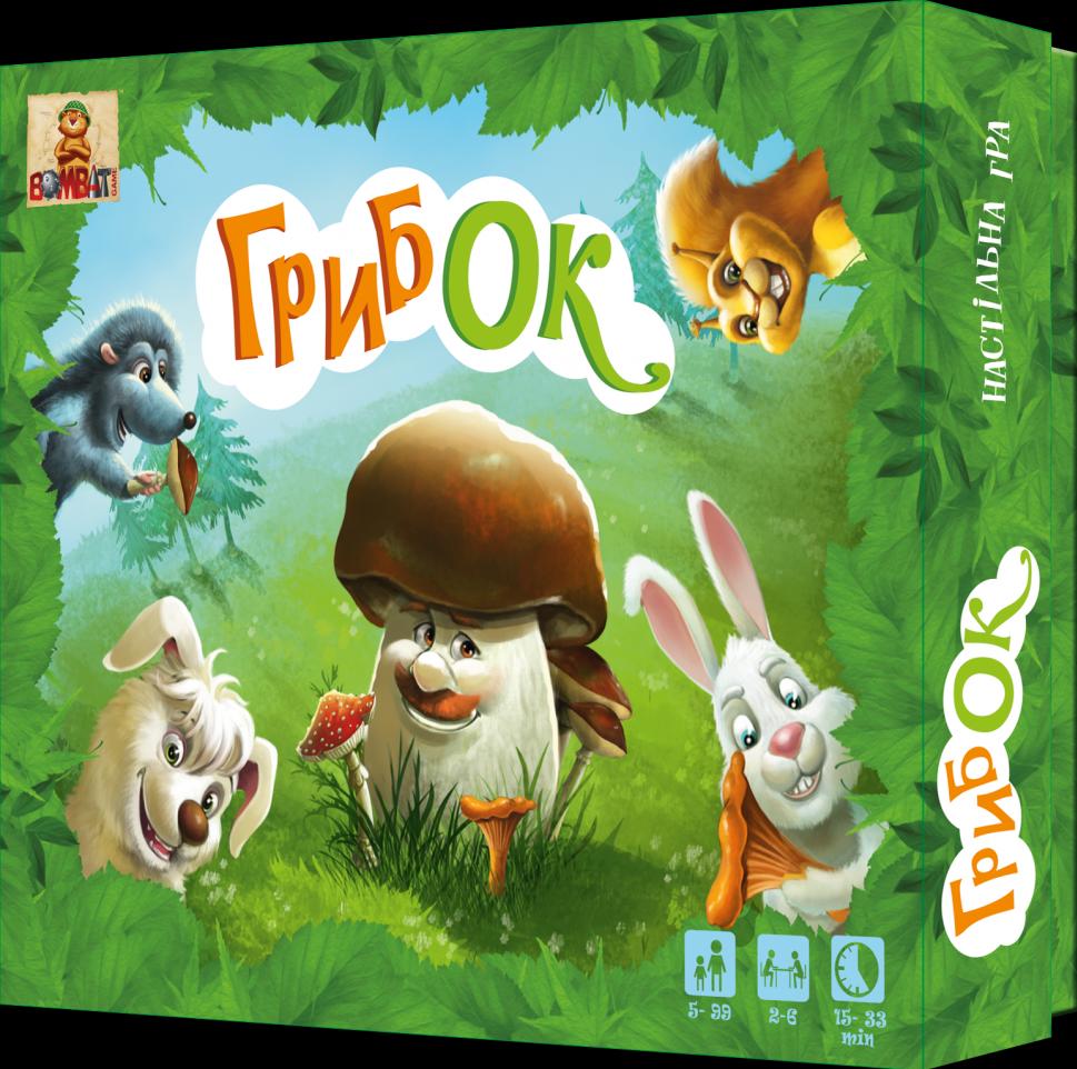 Настільна гра ГрибОК 800170