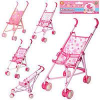 Кукольная коляска прогулочная 51-50-22см, фото 1