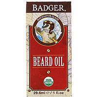 Масло для бороды, Badger Company, 29,6 мл