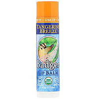 Бальзамы для губ (мандарин), Badger Company, 4,2 г