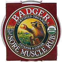 Бальзам от боли в мышцах, Badger Company, 21 г