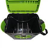 Ящик для зимней рыбалки двухсекционный FishBox Тонар 10 L, фото 5