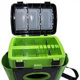 Ящик для зимней рыбалки двухсекционный FishBox Тонар 10 L, фото 6