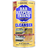 Моющее и полирующее средство, Cleanser & Polish, Bar Keepers Friend, 340 г