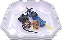 Бейблейд набор с ареной Волчек XENOBeyblade Экскалибур B-48  Бейблед Скрю Трайдент с ручкой и пусковым