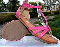 Розовые женские сандалии Sevdzhur 41 размер