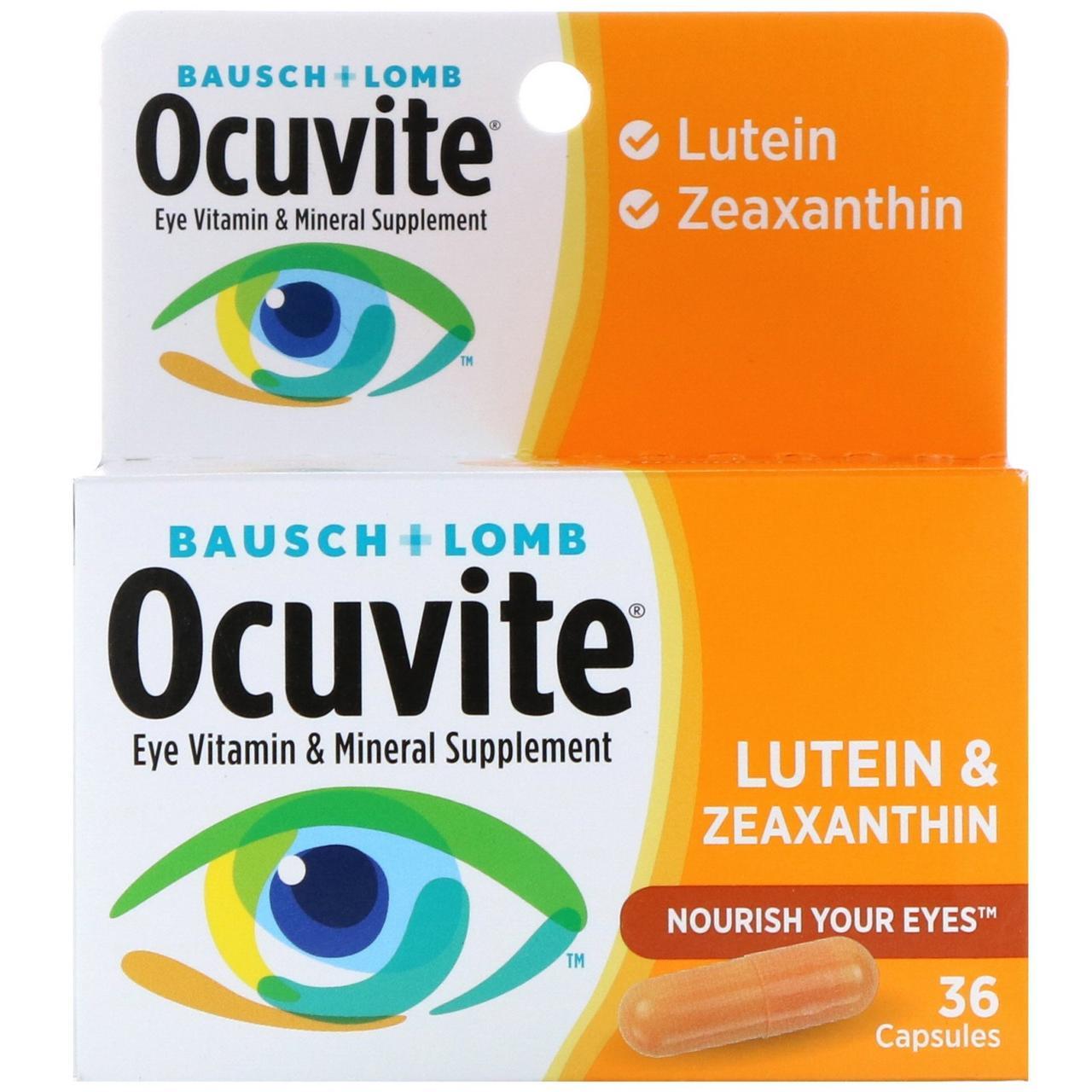Bausch & Lomb, Лютеин и зеаксантин, 36 капсул
