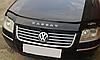 Дефлектор капота (мухобойка) Volkswagen Passat (B5+) 2001-2005 /рестайлинг