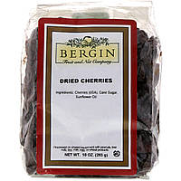Сушеная вишня, Dried Cherries, Bergin Fruit and Nut Company, 283 г