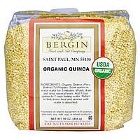 Киноа, цельное зерно, Quinoa, Bergin Fruit and Nut Company, 454 г