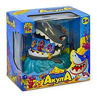 "Игра ""Шалена Акула"" FUN GAME 7386 на батарейках, свет, звук, в коробке"