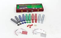 Покерный набор 500фишек IG-6645