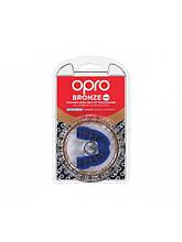 Капа OPRO Bronze синий  Для подростков