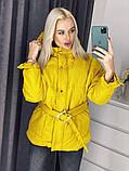 Куртка женская на холодную осень 42-46 рр., фото 2