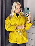 Куртка женская на холодную осень 42-46 рр., фото 3