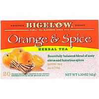 Травяной чай (оранж), Bigelow, без кофеина, 20 п., 42 г