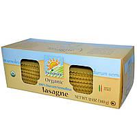 Bionaturae, 100% натуральная широкая лапша из пшеницы сорта Durum Semolina, 12 унций (340 г)