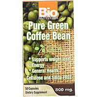 Экстракт зеленого кофе, Bio Nutrition, 800 мг, 50 кап., фото 1