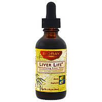 BioRay Inc., Liver Life, (восстановление печени), 2 жидких унций (59 мл)