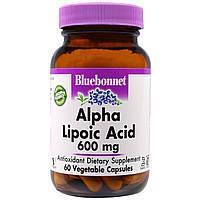 Альфа-липоевая кислота, Bluebonnet Nutrition, 60 кап.
