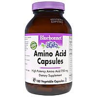 Аминокислоты комплексные, Bluebonnet Nutrition, 180 кап.