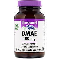 DMAE (Диметиламиноэтанол), Bluebonnet Nutrition, 100 кап.