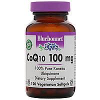 Коэнзим CoQ10 (убихинол), Bluebonnet Nutrition,120 кап.