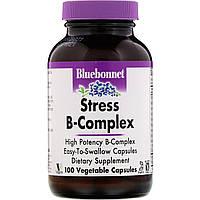 Комплекс В - стресс, Bluebonnet Nutrition, 100 кап.