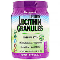 Лецитин, Lecithin Granules, Bluebonnet Nutrition, Гранулы, 360г