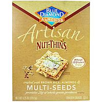 Мультизерновые ореховые крекеры с семечками (Multi-Seeds Cracker), Blue Diamond, 120,5 г.