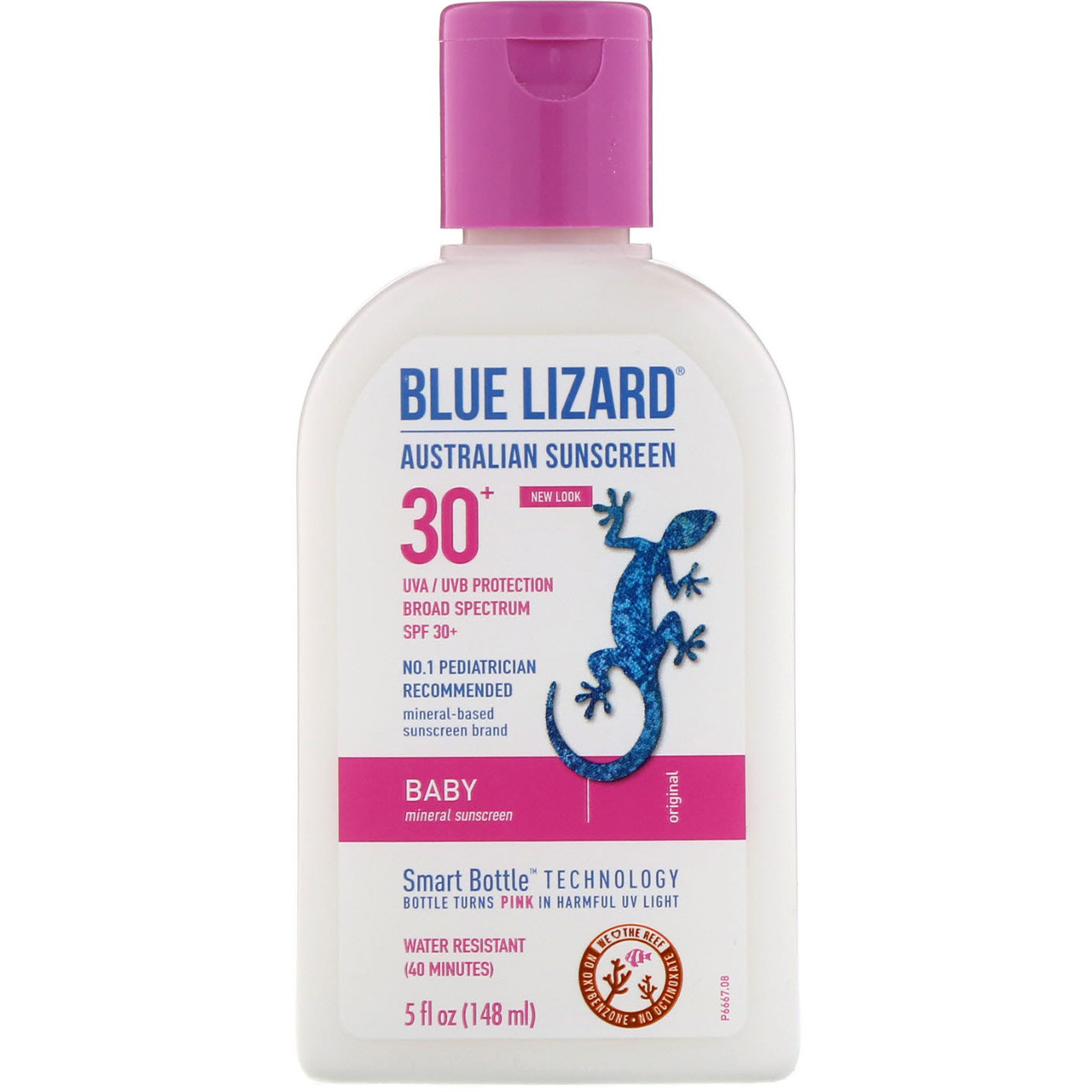 Солнцезащитный крем, для лица SPF 30 + Sunscreen, Blue Lizard Australian Sunscreen, 148 мл