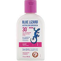 Солнцезащитный крем, для лица SPF 30 + Sunscreen, Blue Lizard Australian Sunscreen, 148 мл, фото 1