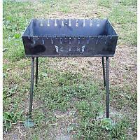 Раскладной мангал чемодан на 10 шампуров 2мм, Сев Код: 1255408