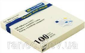 Блок бумаги для заметок 76х76 мм BM.2312-01 Buromax желтый. Цвет ярче чем на фото.