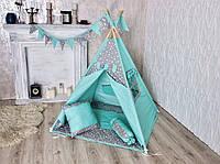 Вигвам с ковриком и подушками! Детский игровой домик. Лучшая Цена!