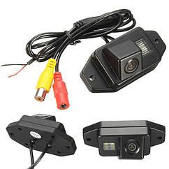 Камера заднего вида универсальнаяToyota Prado Land Cruiser 120 (2002-2009) цветная матриц CCD